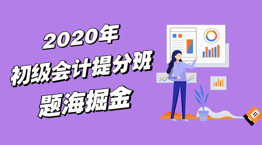 2020初级会计-提分班