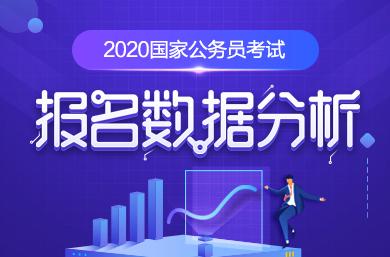 2020国考报名数据分析