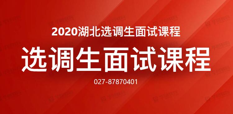 2020年湖北�x�{生面��n程