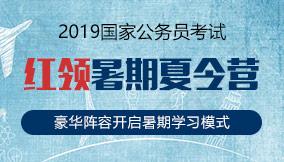 2019国考红领暑期夏令营
