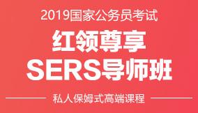 2019国考红领SERS导师班