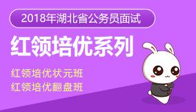 2018年湖北省公务员考试红领培优系列